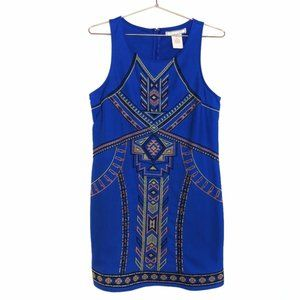 Anthropologie • Flying Tomato Aztec Shift Dress